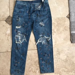 Sienna slim boyfriend, lucky brand jeans